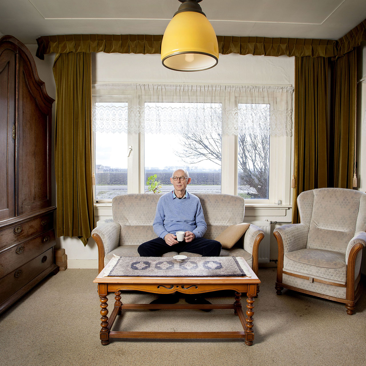 Dhr Spruit, auteur, heeft een boek geschreven over eenzaamheid