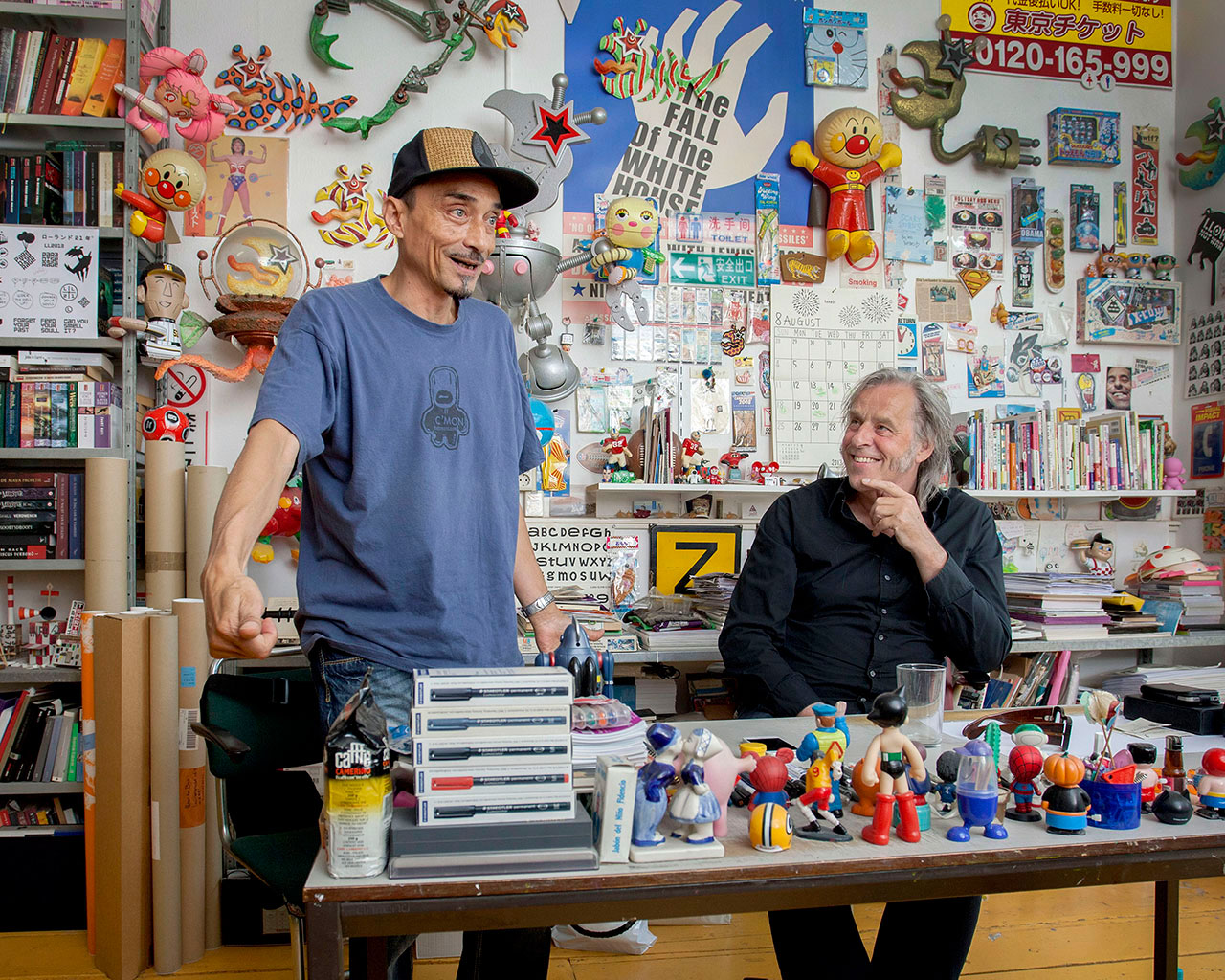Rene van Barneveld en Peter te Bos in opdracht van de VPRO
