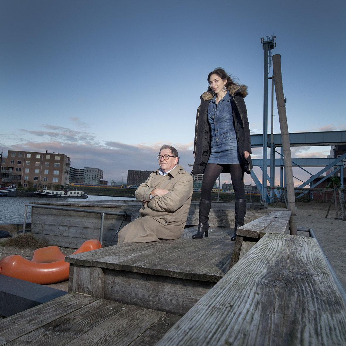 Natascha en Max van Weezel